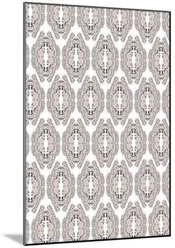 White & Graphite-Belen Mena-Mounted Giclee Print