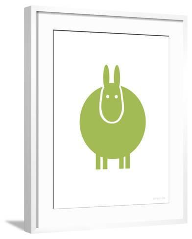 Green Donkey-Avalisa-Framed Art Print