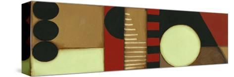 Sophisticated Loft Panel I-Jennifer Goldberger-Stretched Canvas Print