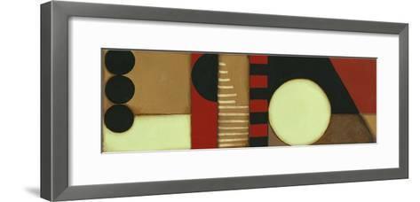 Sophisticated Loft Panel I-Jennifer Goldberger-Framed Art Print