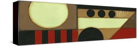 Sophisticated Loft Panel II-Jennifer Goldberger-Stretched Canvas Print