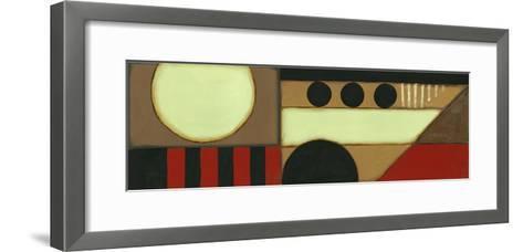 Sophisticated Loft Panel II-Jennifer Goldberger-Framed Art Print