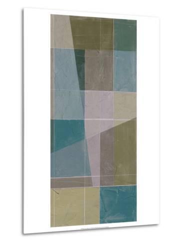 Linear Illusion I-Jennifer Goldberger-Metal Print