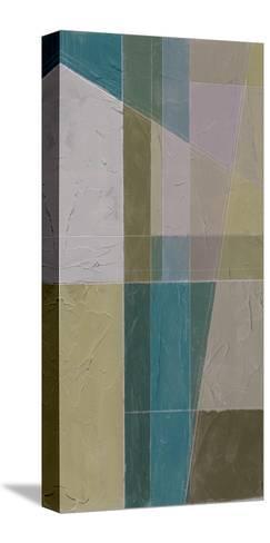 Linear Illusion II-Jennifer Goldberger-Stretched Canvas Print