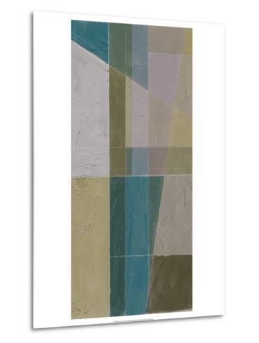 Linear Illusion II-Jennifer Goldberger-Metal Print