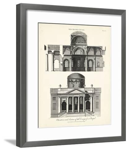 Design for a Chapel-J^ Wilkes-Framed Art Print