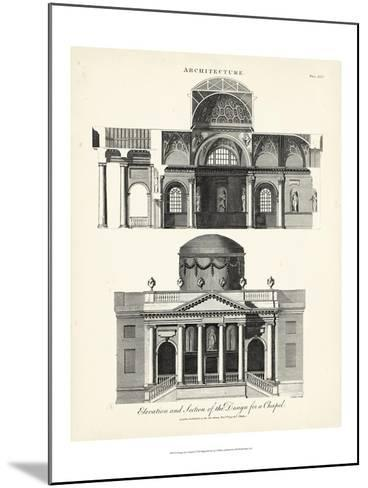 Design for a Chapel-J^ Wilkes-Mounted Art Print