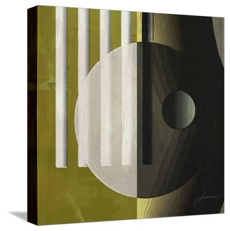 Quartet Tiles III-James Burghardt-Stretched Canvas Print