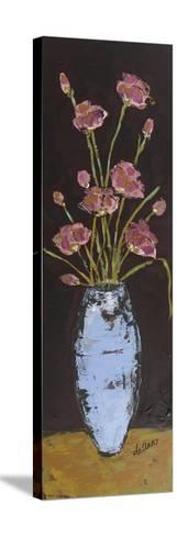 Poppy Series II-Deann Hebert-Stretched Canvas Print