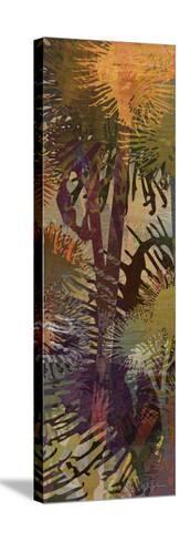 Thistle Panel II-James Burghardt-Stretched Canvas Print