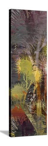 Thistle Panel III-James Burghardt-Stretched Canvas Print
