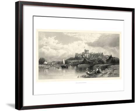 Classical Seaport I-Edward Duncan-Framed Art Print