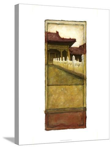 Oriental Panel II--Stretched Canvas Print