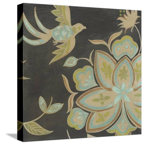 Heirloom Floral III-Erica J^ Vess-Stretched Canvas Print