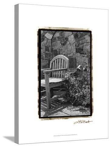 Garden Respite II-Laura Denardo-Stretched Canvas Print