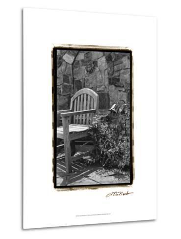 Garden Respite II-Laura Denardo-Metal Print