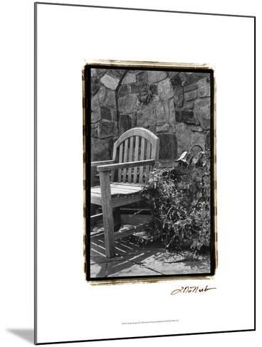 Garden Respite II-Laura Denardo-Mounted Art Print