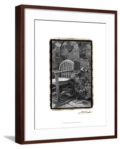 Garden Respite II-Laura Denardo-Framed Art Print