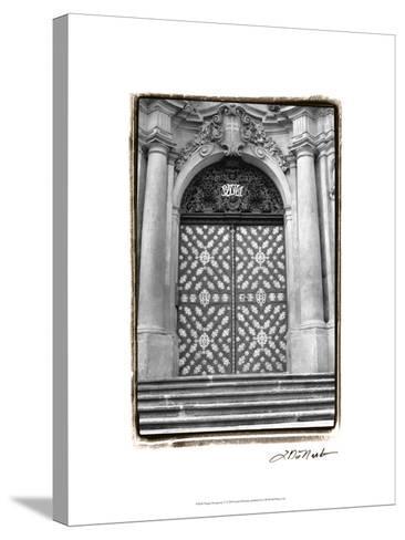 Prague Passageway V-Laura Denardo-Stretched Canvas Print