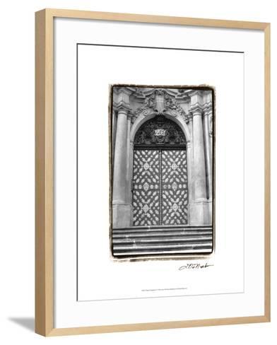 Prague Passageway V-Laura Denardo-Framed Art Print