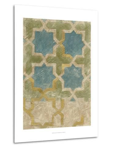 Non-Embellished Exotic Tile II-Chariklia Zarris-Metal Print