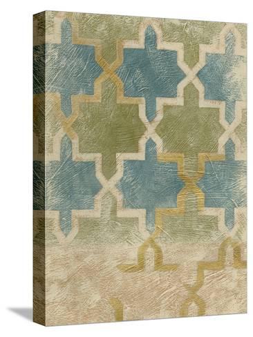 Non-Embellished Exotic Tile III-Chariklia Zarris-Stretched Canvas Print
