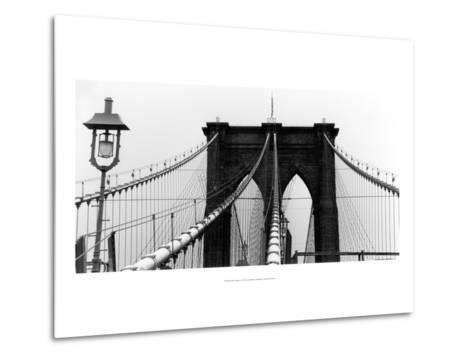 Brooklyn Suspension I-Laura Denardo-Metal Print
