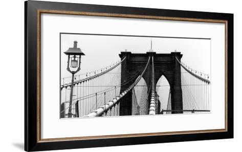 Brooklyn Suspension I-Laura Denardo-Framed Art Print