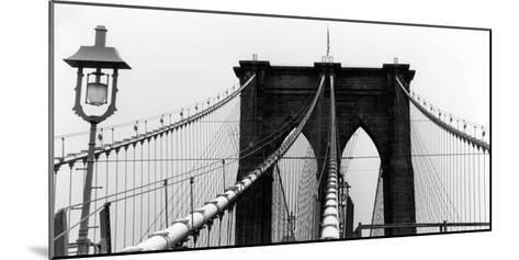 Brooklyn Suspension I-Laura Denardo-Mounted Art Print