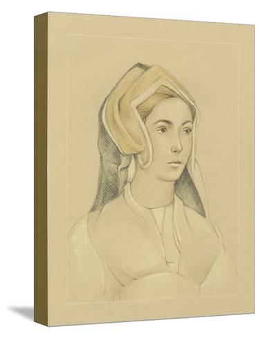 16th Century Portrait I-Ethan Harper-Stretched Canvas Print
