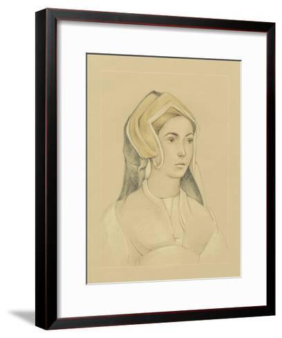16th Century Portrait I-Ethan Harper-Framed Art Print