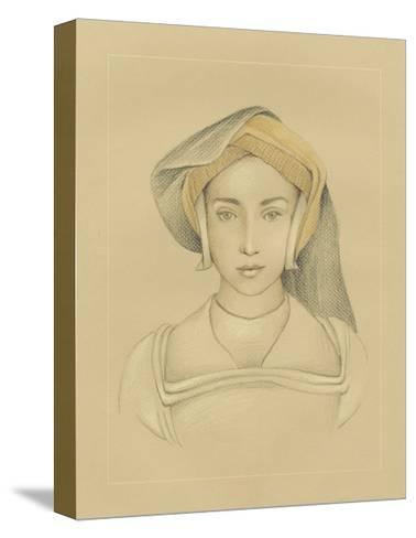 16th Century Portrait II-Ethan Harper-Stretched Canvas Print