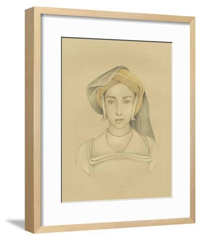 16th Century Portrait II-Ethan Harper-Framed Art Print