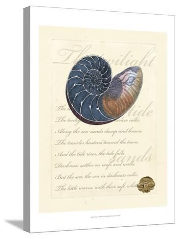 Romance of the Shell I--Stretched Canvas Print