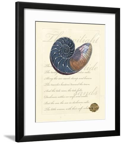 Romance of the Shell I--Framed Art Print