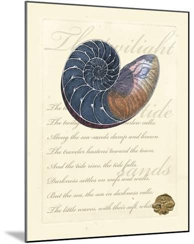 Romance of the Shell I--Mounted Art Print