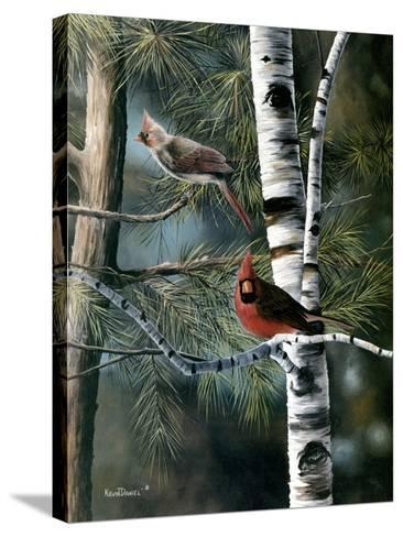 A Touch of Red-Kevin Daniel-Stretched Canvas Print