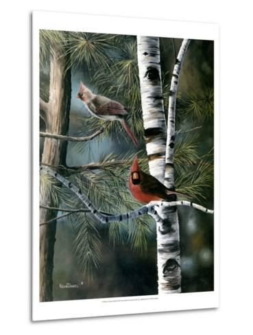 A Touch of Red-Kevin Daniel-Metal Print