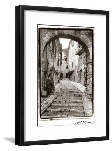 Village Passageway-Laura Denardo-Framed Art Print