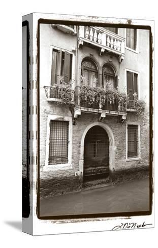 Balcony Doorway-Laura Denardo-Stretched Canvas Print