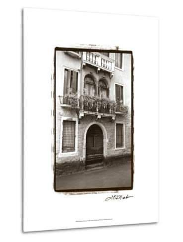 Balcony Doorway-Laura Denardo-Metal Print