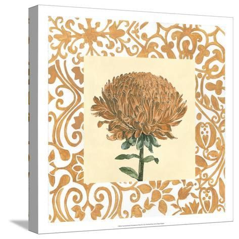 Non-embellished Chrysanthemum III-Megan Meagher-Stretched Canvas Print