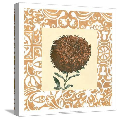 Non-embellished Chrysanthemum IV-Megan Meagher-Stretched Canvas Print