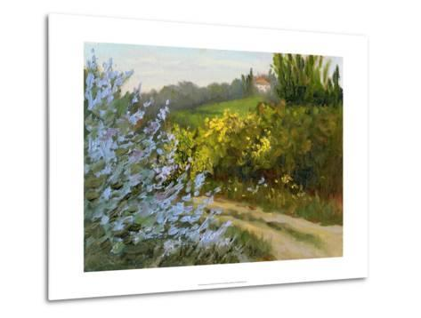 Rosemary by the Road-Mary Jean Weber-Metal Print