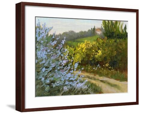 Rosemary by the Road-Mary Jean Weber-Framed Art Print