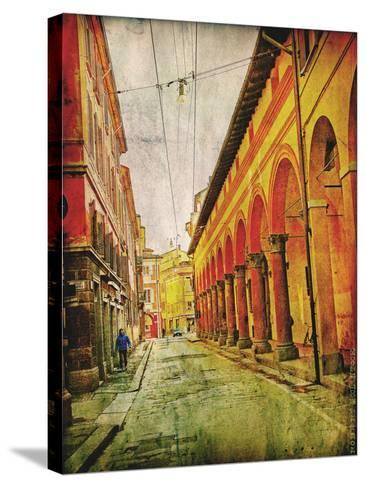 Streets of Italy IV-Robert Mcclintock-Stretched Canvas Print