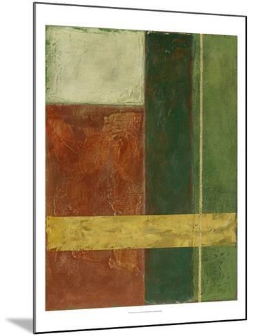 Red, Green, Gold I-Megan Meagher-Mounted Art Print