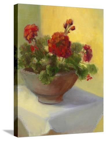 Tuscan Geraniums-Mary Jean Weber-Stretched Canvas Print