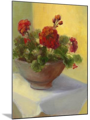 Tuscan Geraniums-Mary Jean Weber-Mounted Art Print