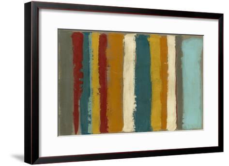 Vibrant Striation II-Megan Meagher-Framed Art Print